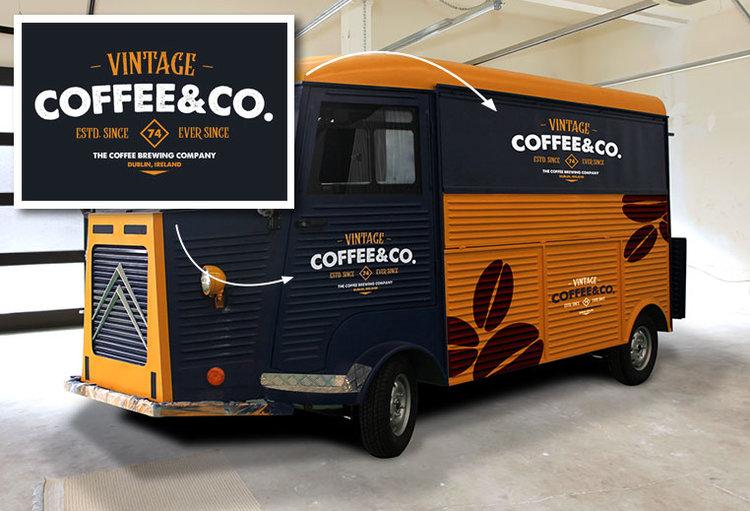 مقطورات القهوة للبيع